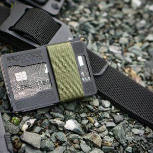 Trayvax Armored Summit OD Green RFID portemonnee